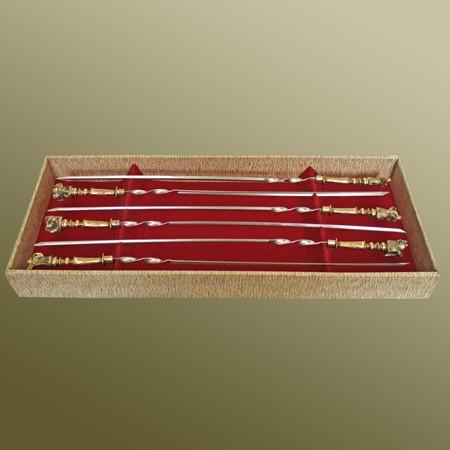 Набор шампуров «Преданные друзья» в подарочной коробке