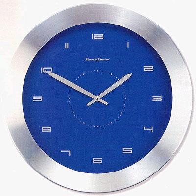 Часы настенные с датой, алюминий