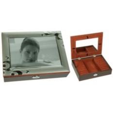 Ювелирная шкатулка с рамкой для фото MORETTO