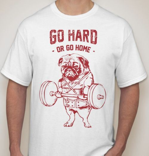 Футболка Go Hard
