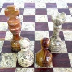 Каменные шахматы Яшма
