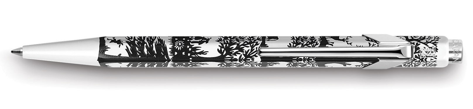 Шариковая ручка Caran d'Ache Essentialy Swiss Cut up Paper