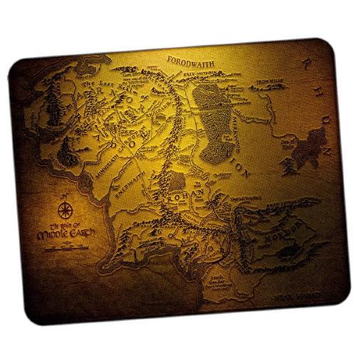 Коврик для мышки Карта Средиземья