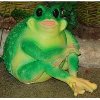 Садовая фигурка Лягушка-толстушка