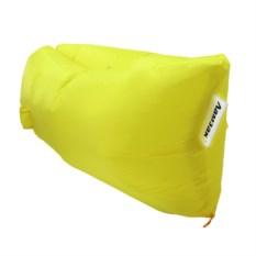 Надувной диван Ламзак желтого цвета