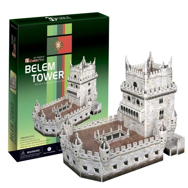 3D пазлы Cubic Fun Башня Белен (Португалия)