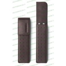 Темно-коричневый кожаный футляр Cross для двух ручек