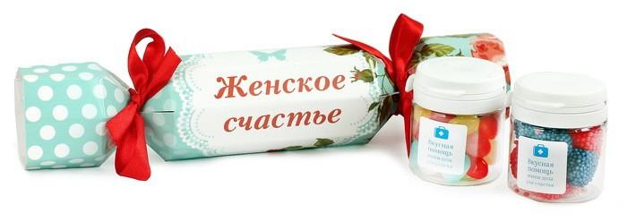 Вкусная помощь Большая конфета Женское счастье