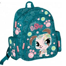 Ортопедический рюкзак с EVA-спинкой Littlest Pet Shop