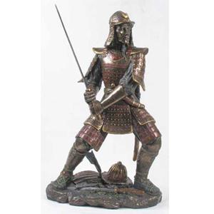 Бронзовая статуэтка «Самурай»