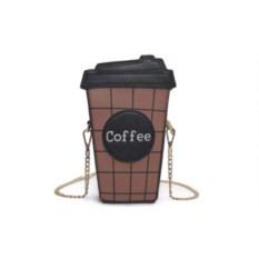 Мини-сумочка Кофе