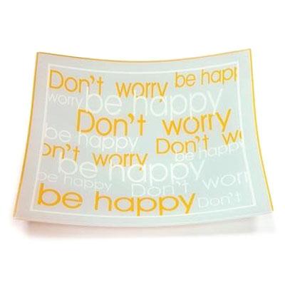 Блюдо «Be Happy»