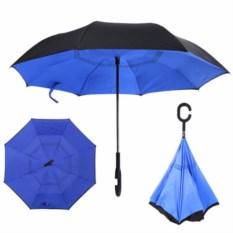 Зонт-наоборот небесного цвета