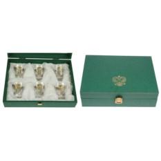 Подарочный набор стопок Герб (на 6 персон)