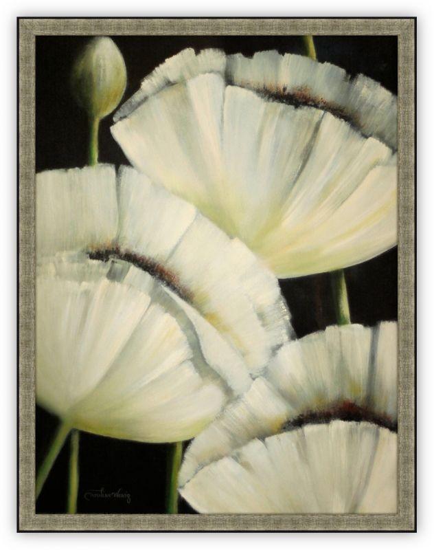 Постер Белые Маки (Каролина Венидж)