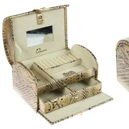 Шкатулка для ювелирных украшений CALVANI 20*14*12см