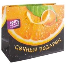 Подарочный пакет Сочный апельсин