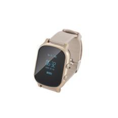 Золотистые умные детские часы с GPS Smart Baby Watch T58
