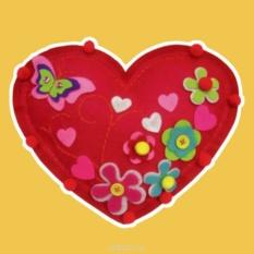 Набор для шитья из фетра Красное сердце