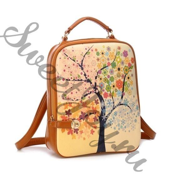 Кожаный рюкзак Season Tree