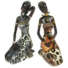 Статуэтка Думы африканки