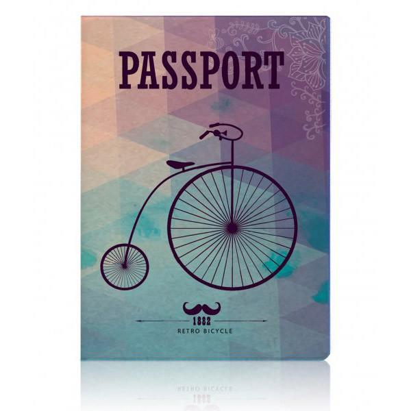 Обложка для паспорта Retro Bicycle