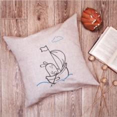 Подушка Кораблик