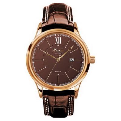 Мужские золотые часы «НИКА»