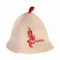 Банная шапка Russia