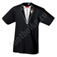Мужская футболка Черный фрак