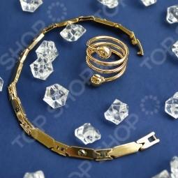 Магнитный браслет Рапира и кольцо