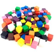 Счетчики для математики «Кубики» (100 штук)