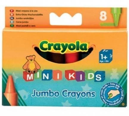 Восковые мелки для самых маленьких Crayola, 8 шт.