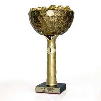 Кубок-чаша «Чемпион Бизнеса»