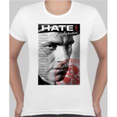 Женская футболка Маяковский Hate