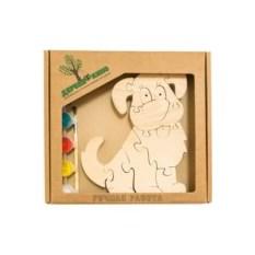 Развивающая игрушка Собачка с красками