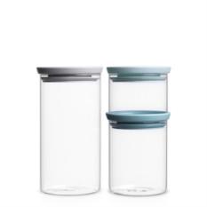 Набор стеклянных банок для хранения