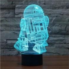 3D лампа R2D2