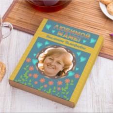 Чайный набор Для любимой мамы с вашим фото