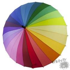 Зонт-трость Радуга-дуга