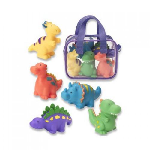 Детский игрушки для ванны Динозаврики