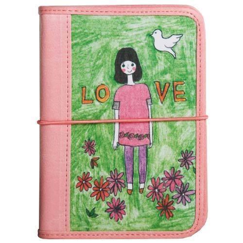 Обложка для паспорта Девочка-любовь
