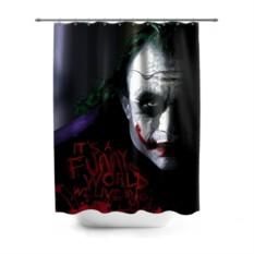 Штора для ванной Джокер