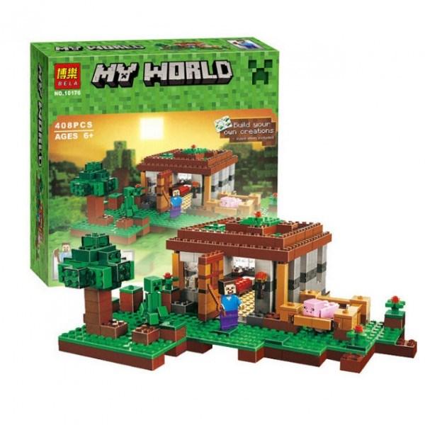 Конструктор Bela Minecraft Первая Ночь