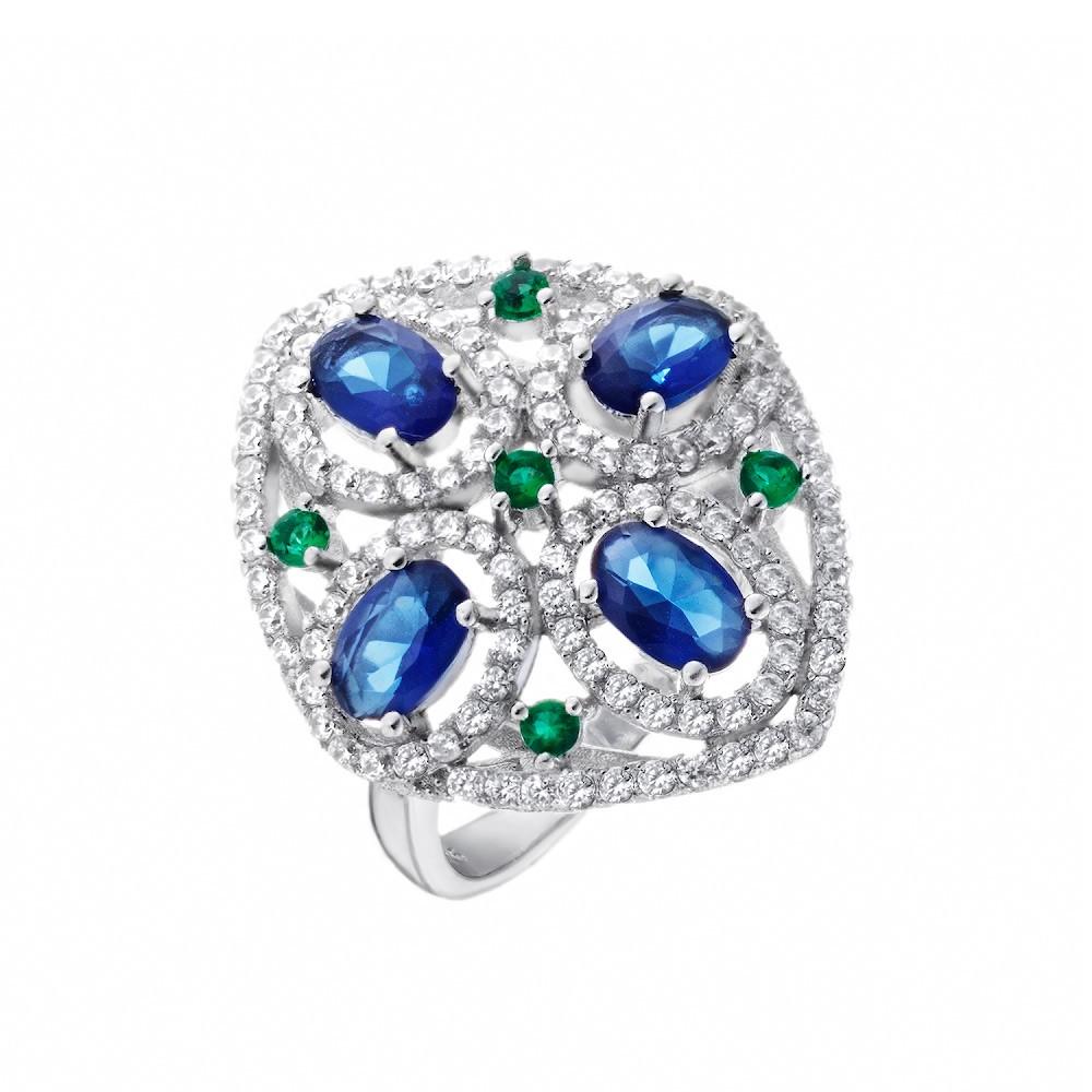 Кольцо «Мистические узоры»