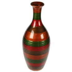 Декоративная ваза Полосатый кувшин