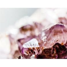 Фирменный уход для лица с массажем аметистовыми камнями