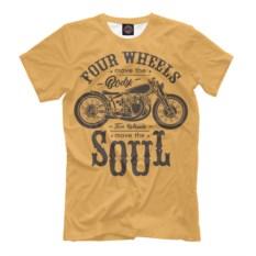 Мужская футболка Two Wheels