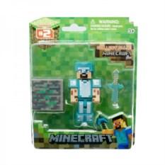 Набор Minecraft Стив в алмазной броне