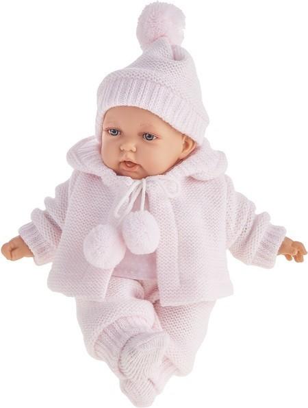 Озвученная кукла Азалина в розовом